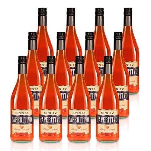 SPRiTZ l'Aperitivo Venezia - Domus Vini - Bittersüßes Aroma nach Orange (12 x 0,75 L)