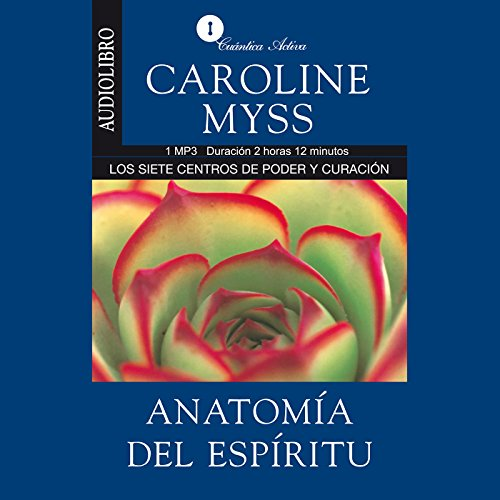 Anatomia del espiritu [Anatomy of the Spirit ] audiobook cover art