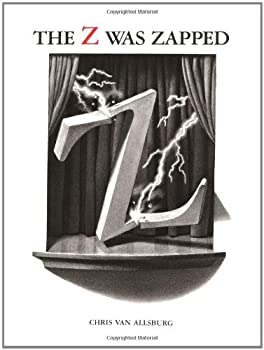 The Alphabet Theatre Proudly Presents the Z Was Zapped  A Play in Twenty-Six Acts by Chris Van Allsburg  19-Sep-1997  Hardcover