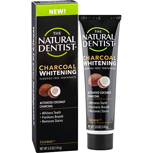 Natural Dentist Charcoal Whitening Toothpaste, 5 Ounce Tube