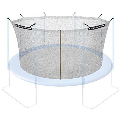 Ultrasport Sicherheitsnetz für Gartentrampolin Ultrasport Jumper Modelle ab Mai 2014, mit Reißverschluss, UV-beständig, 430 cm