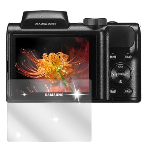dipos I 6X Schutzfolie klar kompatibel mit Samsung WB 110 Folie Displayschutzfolie