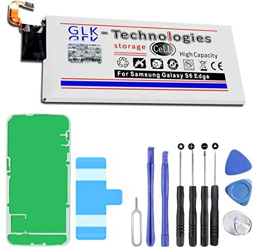 Neuer Preis 2021 High Power Ersatzakku für Samsung Galaxy S6 Edge SM-G925F / EB-BG925ABE | Original GLK-Technologies Battery | accu | 2800 mAh Akku | inkl. Werkzeug Set Kit
