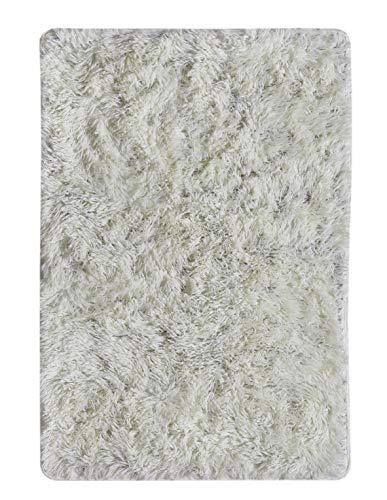 andiamo Creme Kunstfell Hochflor Teppich Pisa, 60 x 90 cm