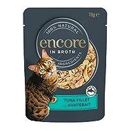 Encore Cat Food Pouch Tuna Fillet & Whitebait (16 x 70g Pouches)