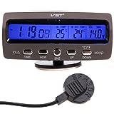 Thermomètre de la température de moniteur de l'alarme...
