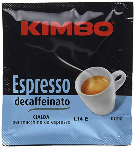 Kimbo 100 Cialde Caffè 44 mm, Miscela Dek - 1000 gr