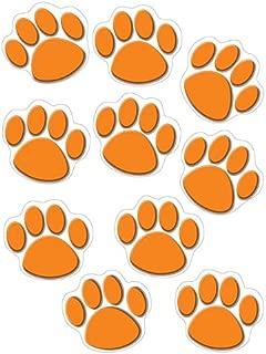 Teacher Created Resources Orange Paw Print Accents (4649)