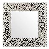 Specchio B.Simo Limited Edition sabbia, 64,5x64,5 cm Multicolore
