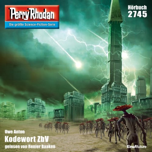 Kodewort ZbV (Perry Rhodan 2745) Titelbild