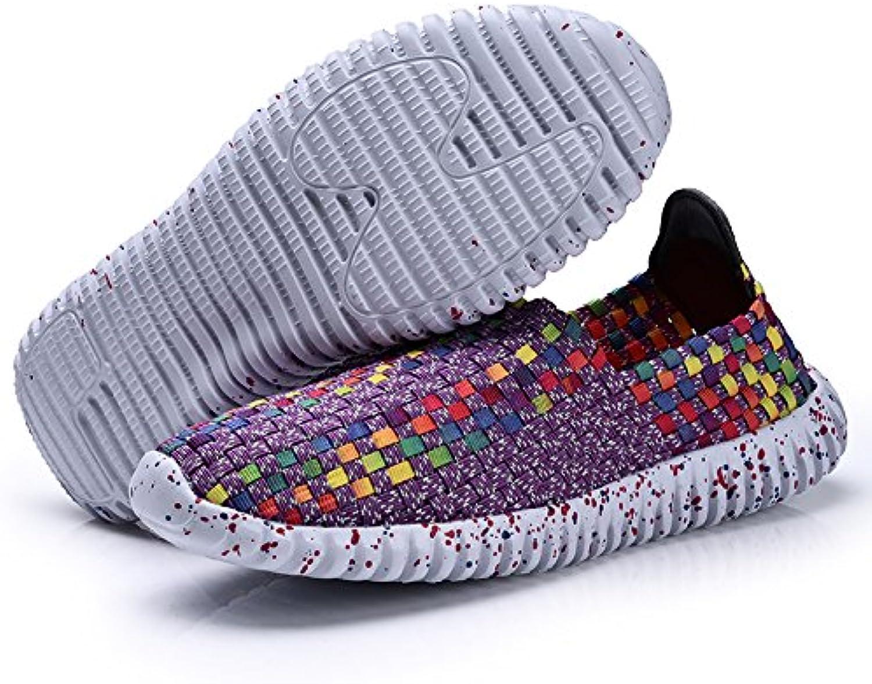 ShopSquare64 US-Gre 5-9 Damen Schuhe Handgewebte atmungsaktive Net Hollows Strand Sommer