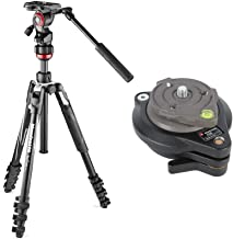Manfrotto Befree Live Aluminum Lever-Lock Tripod Kit with 438 Compact Levelling Head, EasyLink & Case Bundle (2 Items)