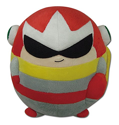 Great Eastern Entertainment Mega Man - Proto Collectible Plush Toy Multi-colored, 8 inches