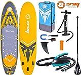Zray X-Rider XL 13.0 X5 Sup Board Isup Stand Up Paddle 396x91x15cm con 12V E-Pumpe