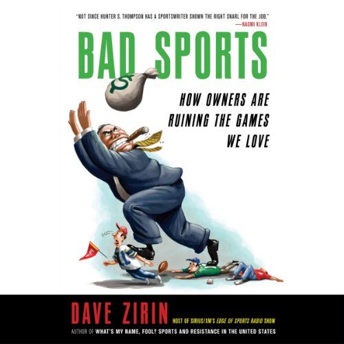Bad Sports Audiobook By Dave Zirin cover art
