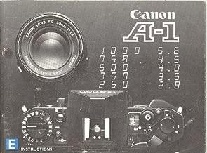 canon a 1 manual