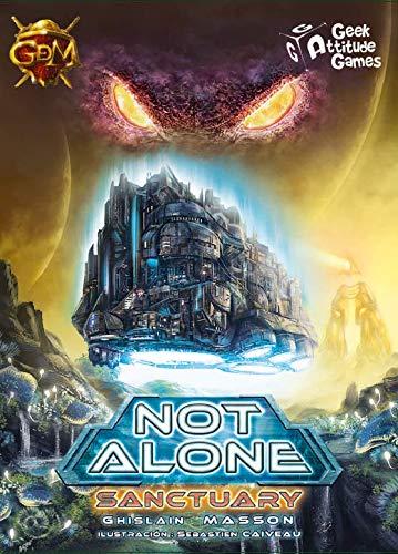 GDM Games- Not Alone: Sanctuary Juego de Cartas, Color Negro (GDM2110)