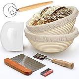 Bread Banneton Proofing Basket, 2 Pack 10
