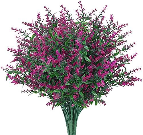 WIIVII 8 bündel künstliche Blumen...