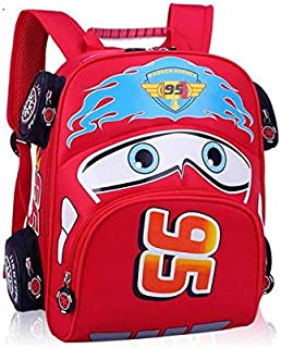 Fashion Children School Bags Cartoon Car Backpack Baby Toddler kids Book Bag Kindergarten Boy Backpacking