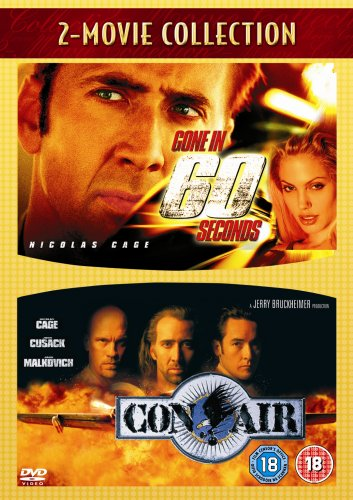 Gone In 60 Seconds & Con Air [DVD]