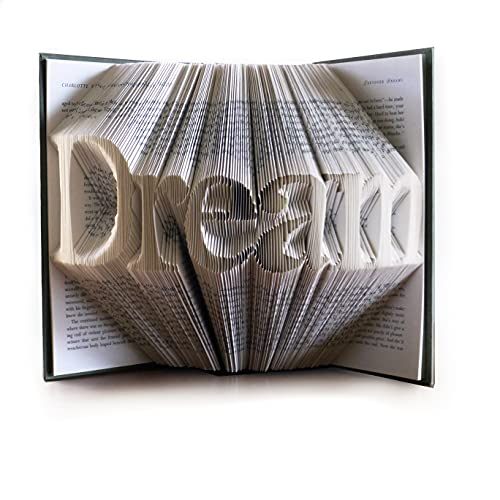Folded Book Art Handmade Home Decor