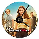 MasTazas The Kissing Booth 2 Joey King Jacob Elordi Joel Courtney Horloge CD Clock 12cm