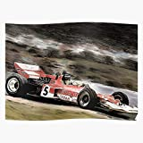 fashionAAA Retro Car Racing 1 Motorsport Paint Lotus Cars