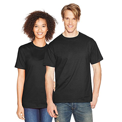 By Hanes Beefy-T Adult Short-Sleeve T-Shirt_Black_L