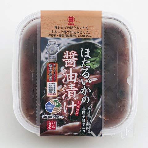 マルヨ ほたるいか醤油漬け 160g 【冷凍・冷蔵】 2個