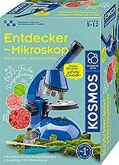 KOSMOS 636050 Entdecker-Mikroskop, Experimentierkasten für