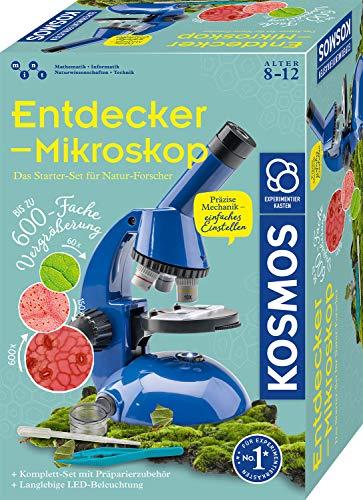 Kosmos KOSMOS 636050 Entdecker-Mikroskop, Experimentierkasten für Bild