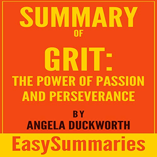 Summary of Grit: Power of Passion and Perseverance by Angela Duckworth Titelbild