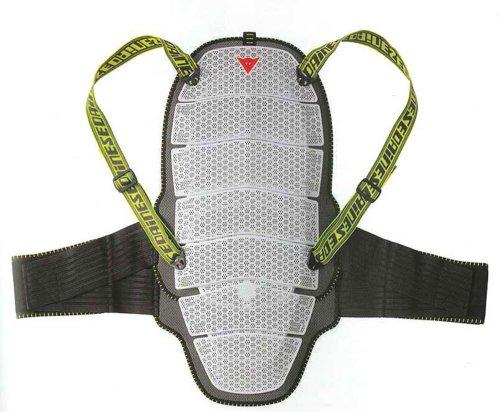 Dainese Erwachsene Skiprotektor Active Shield 01 Evo Ski Protektor, Weiss, XL