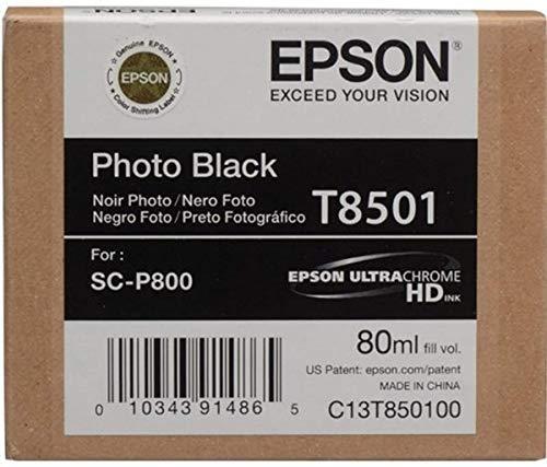 Epson T850100 T850 UltraChrome HD Photo Black Ink Photo #2