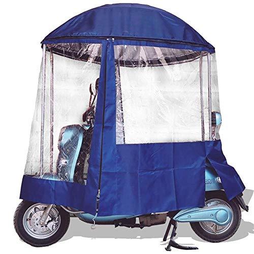 GPWDSN Carpa para sombrilla con Visera de Bicicleta de Motor, Parabrisas Cubierta...
