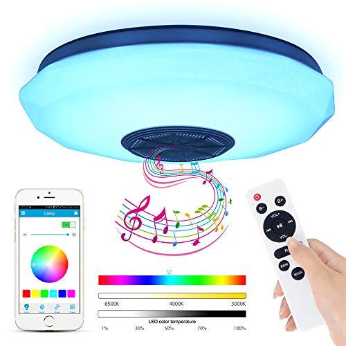 Lámparas De Techo Led Bluetooth lámparas de techo led  Marca ABEDOE