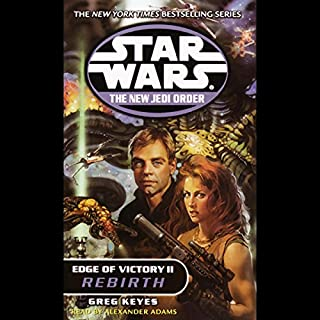 Star Wars: New Jedi Order: Edge of Victory II: Rebirth cover art