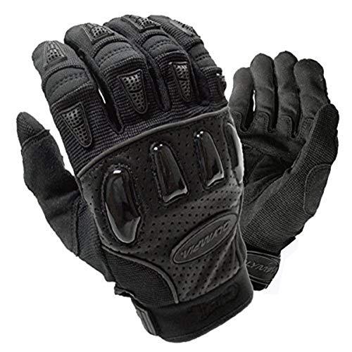 Olympia Sports Men's Extreme Gel Gloves (Black, Large)