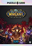 World of Warcraft Classic: Onyxia - Puzzle 1000 Piezas 68cm x 48cm   Incluye póster y Bolsa   Videojuego   Puzzle para Adultos y Adolescentes