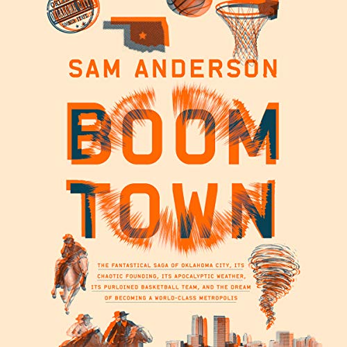 Boom Town audiobook cover art