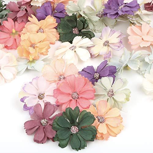Flores De Tela Para Manualidades
