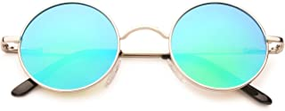 John Lennon Retro Round Polarized Hippie Sunglasses Small Circle Steampunk Sun Glasses