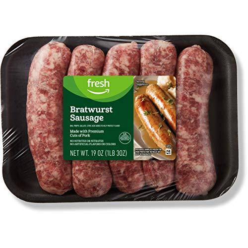 Fresh Brand – Bratwurst Sausage Links, 19 oz