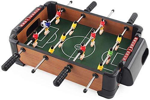 Mini Fútbol de mesa, futbolín, fútbol de la tabla del juego de futbolín jugadores Familia divertido juego for niños juguetes juegos for niños Conjunto de Navidad de Navidad regalo de cumpleaños, 15x13: