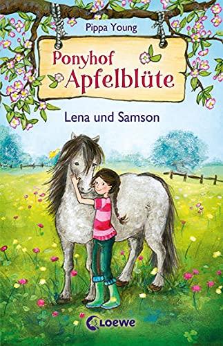 Ponyhof Apfelblüte (Band 1) - Lena und Samson: Pferdebuch für Mädchen ab 8 Jahre