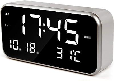 Feng Xu Reloj Despertador: plástico, Memoria de Apagado de Moda Creativa, músicos Inteligentes