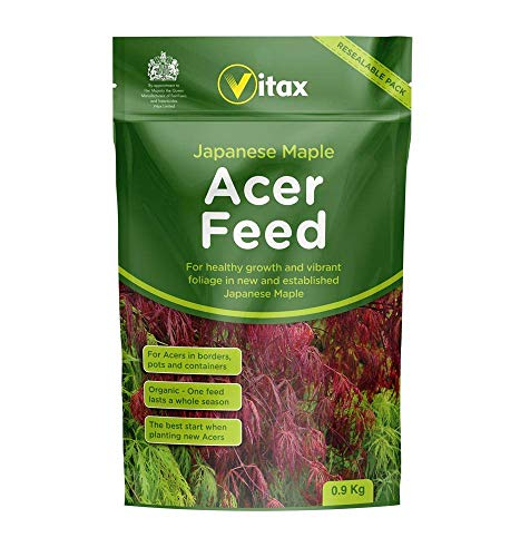 Vitax Ltd 2 x Japanese Maple Acer Feed 0.9kg Pouch