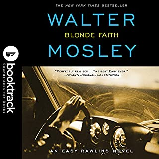 Blonde Faith audiobook cover art