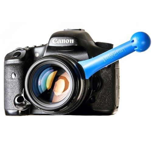 LensShifter Blue - Balanced Focus and Zoom Grip for DSLR and Mirrorless Camera Lens - (Blue)
